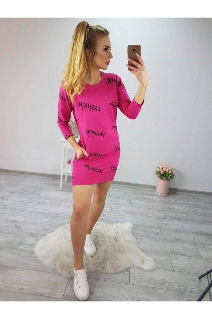 Dámské sportovní šaty Fashion růžové