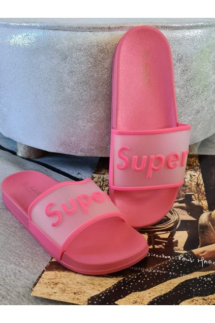 pantofle super růžové trendy