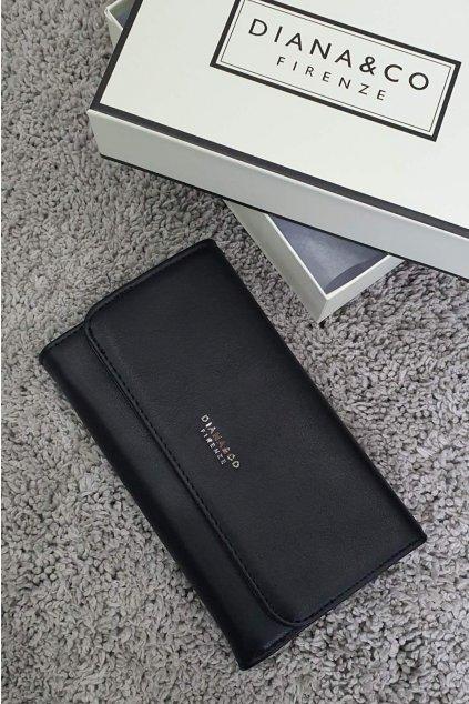 Dámská značková peněženka Diana & co černá