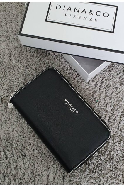 Dámská značková peněženka Diana&co černá