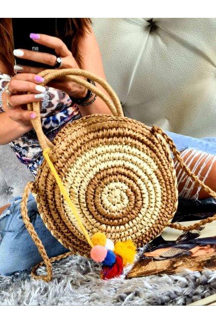 slaměnná kabelka mix trendy léto