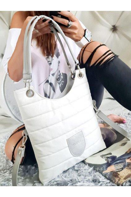 maci bílá trendy kabelka sportovní
