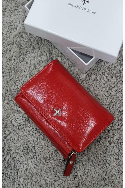Peněženka Milano Design červená