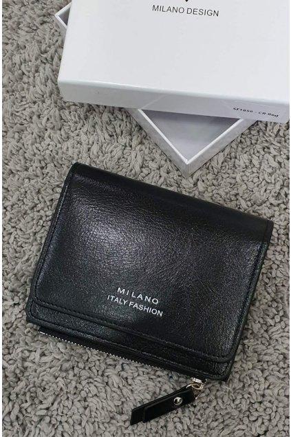 Peněženka Milano Fashion černá