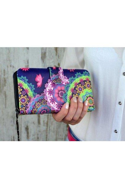 Peněženka Rainbow II fialová
