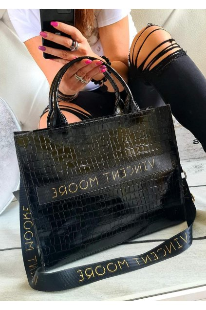 vincent moore kabelka trendy elegant ala dior eko kůže koženka