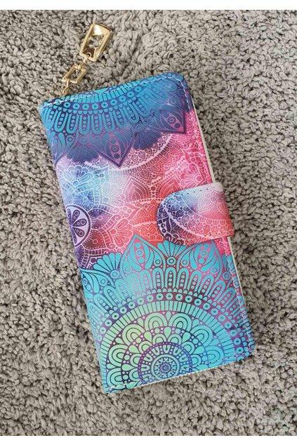 Peněženka Rainbow mentolová