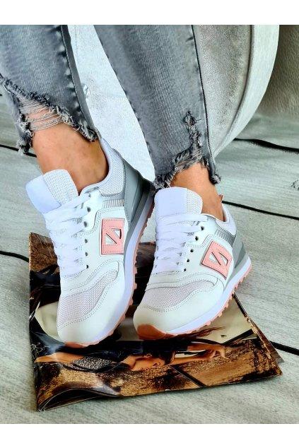 balery bílorůžové sportovní boty trendy 2020