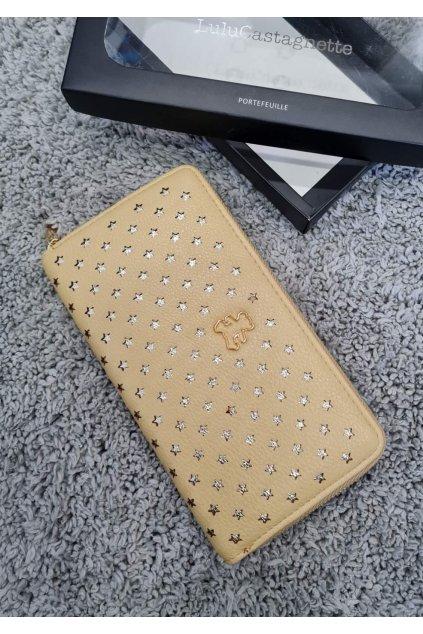 Dámská peněženka Lulu Casta žlutá