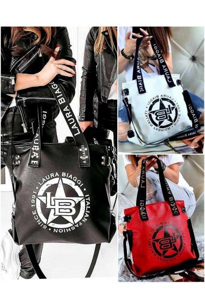 Harley značková kabelka laura biaggi luxusní kabelka