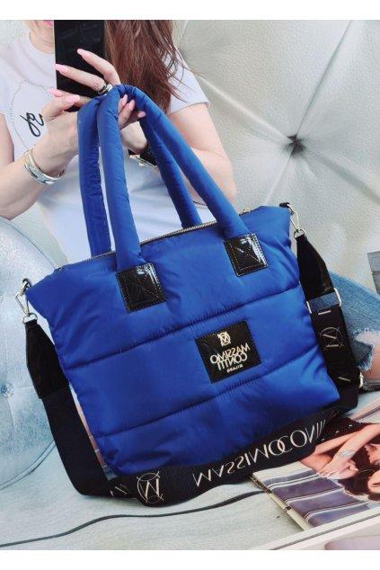 Massimo Contti luxusní značkové kabelky trendy fashion modrá královská