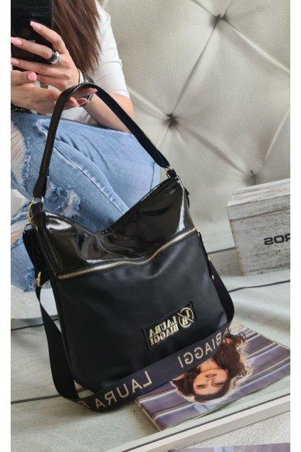 kabelka Laura biaggi značková luxusní nadčasová kabelka střední typ