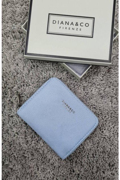 Dámská peněženka Diana&co modrá