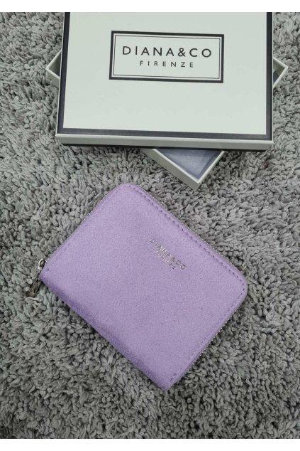 Dámská peněženka Diana&co lila