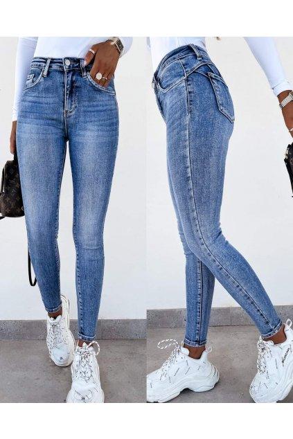 dámské džíny jeans modré