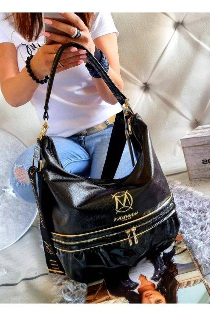 Elegantní kabelka Massimo černá