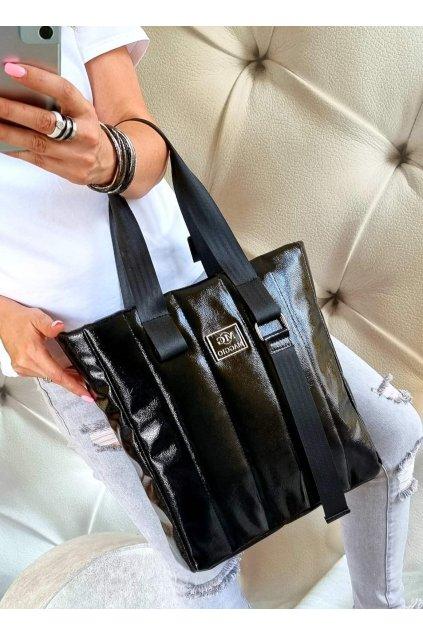 značková kabelka MAGIO luxusní kabelka ČERNÁ