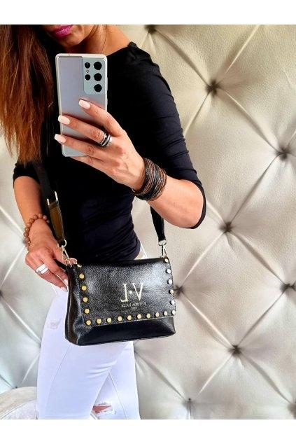 kabelka crossbody značková luxusní trendy vittoria lucca černá