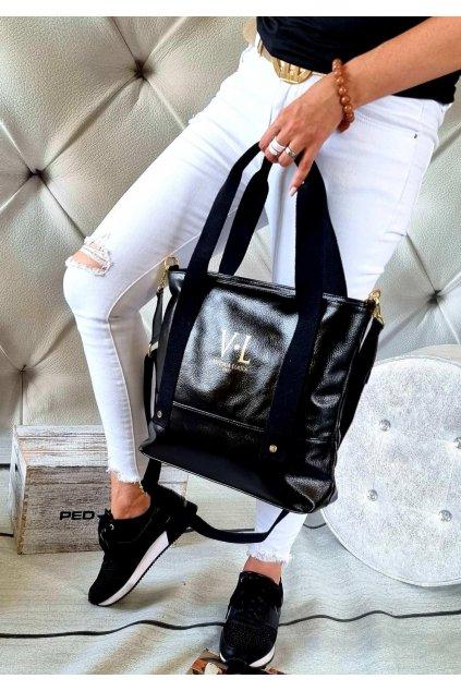 KABELKA luxusní značková vittoria IV černá trendy
