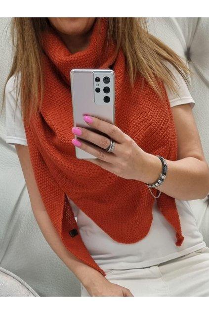 Dámský pletený šátek Vallerry