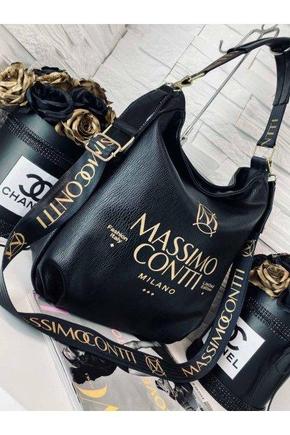 Kabelka Massimo Italy černá