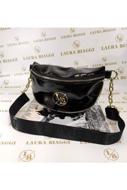 Trendy dámská Ledvinka Laura Biaggi černá