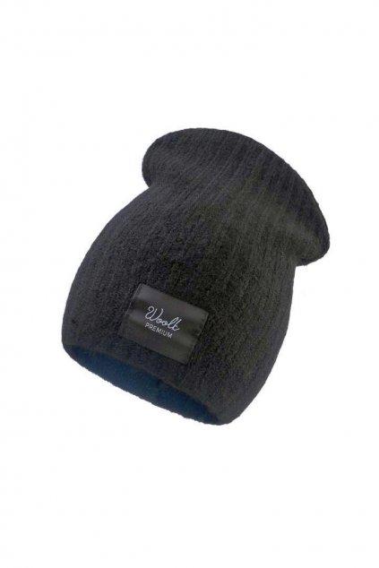 woolk SANSA čepice černá (1)