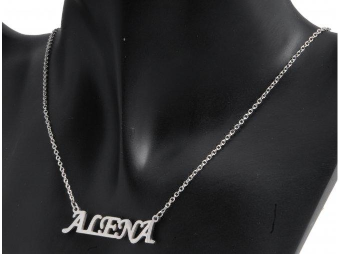 Náhrdelník z chirurgické oceli - Alena