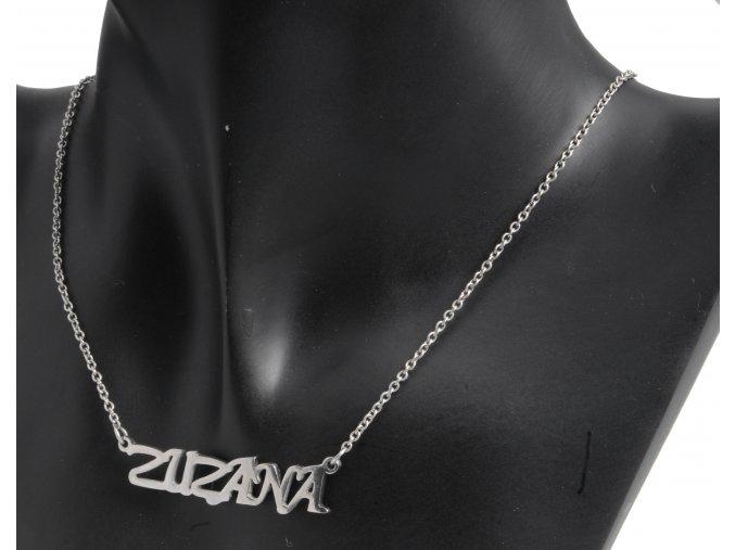 Náhrdelník z chirurgické oceli - Zuzana