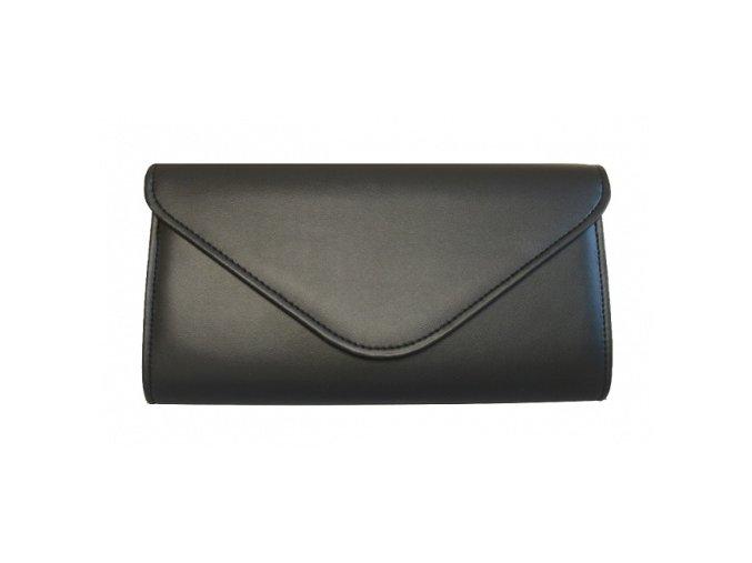 Společenská kabelka černá mat