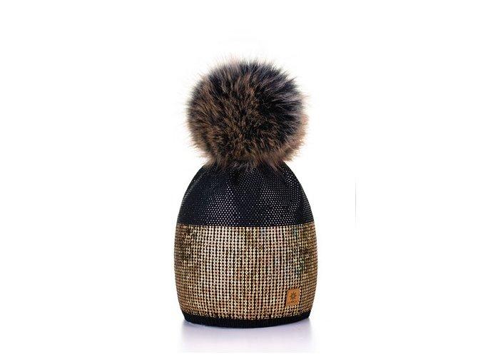 Čepice Bellen černá