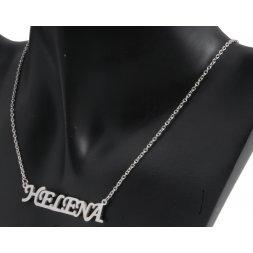 Náhrdelník z chirurgické oceli - Helena