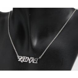 Náhrdelník z chirurgické oceli - Renat