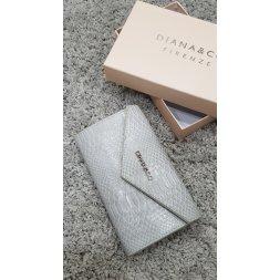 Značková peněženka Diana&co - II šedá
