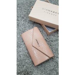 Značková peněženka Diana&co - II růžová