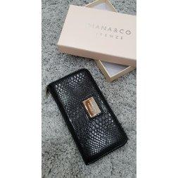 Značková peněženka Diana&co - III černá