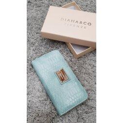 Značková peněženka Diana&co - III mentolová