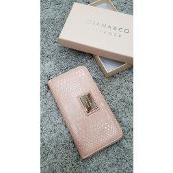 Značková peněženka Diana&co - III růžová