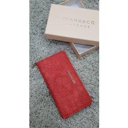 Značková peněženka Diana&co - IV červená