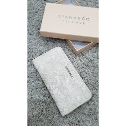 Značková peněženka Diana&co - IV krémová
