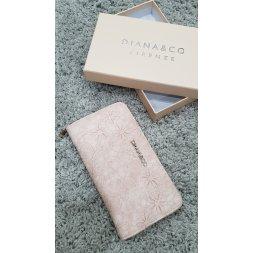Značková peněženka Diana&co - IV růžová