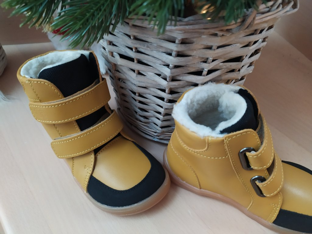 BABY BARE SHOES FEBO WINTER KAYAK s okopom Asfaltico