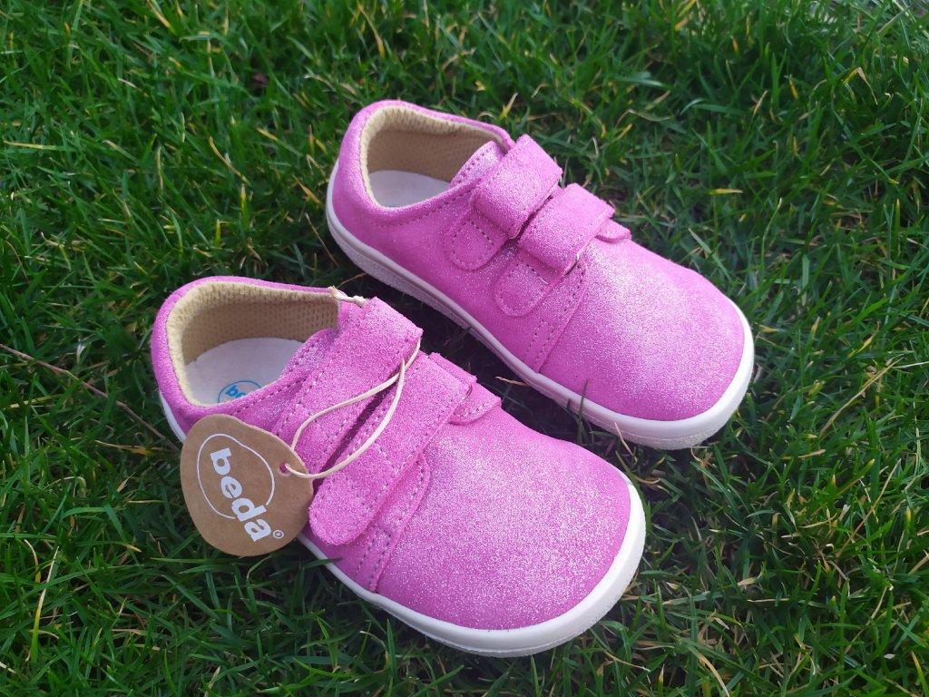 Beda Janette celoročné kožené topánky nízke