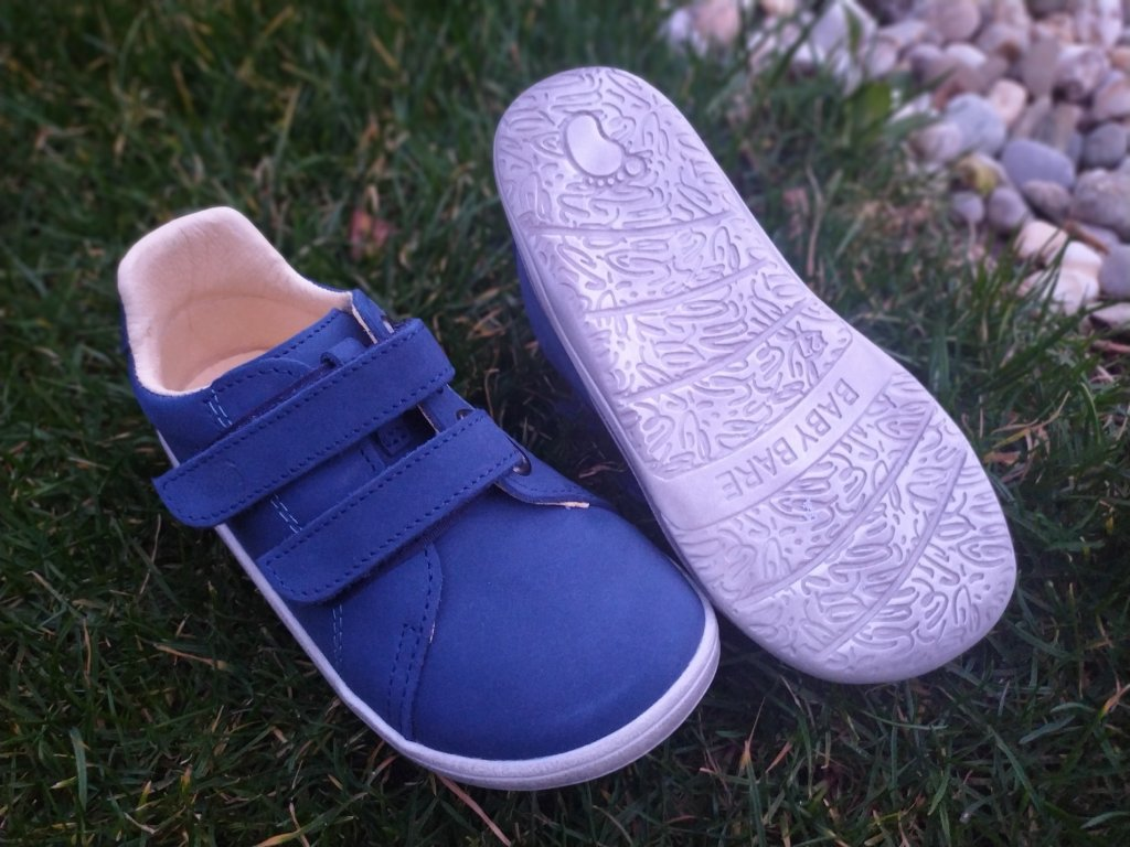 Baby Bare Shoes Febo Spring Navy/ white
