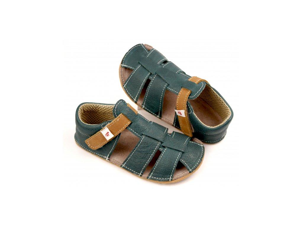 Ef Barefoot sandálky Green