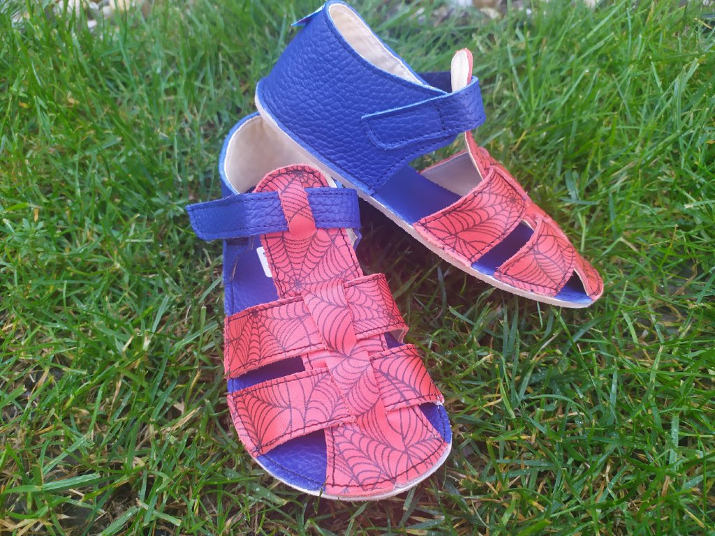 Baby Bare Shoes Spider-Sandals New