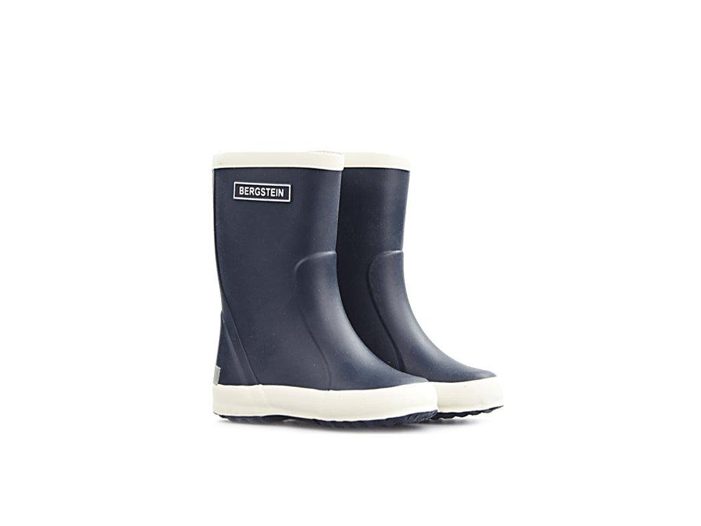 bergstein dark blue blauw rainboots