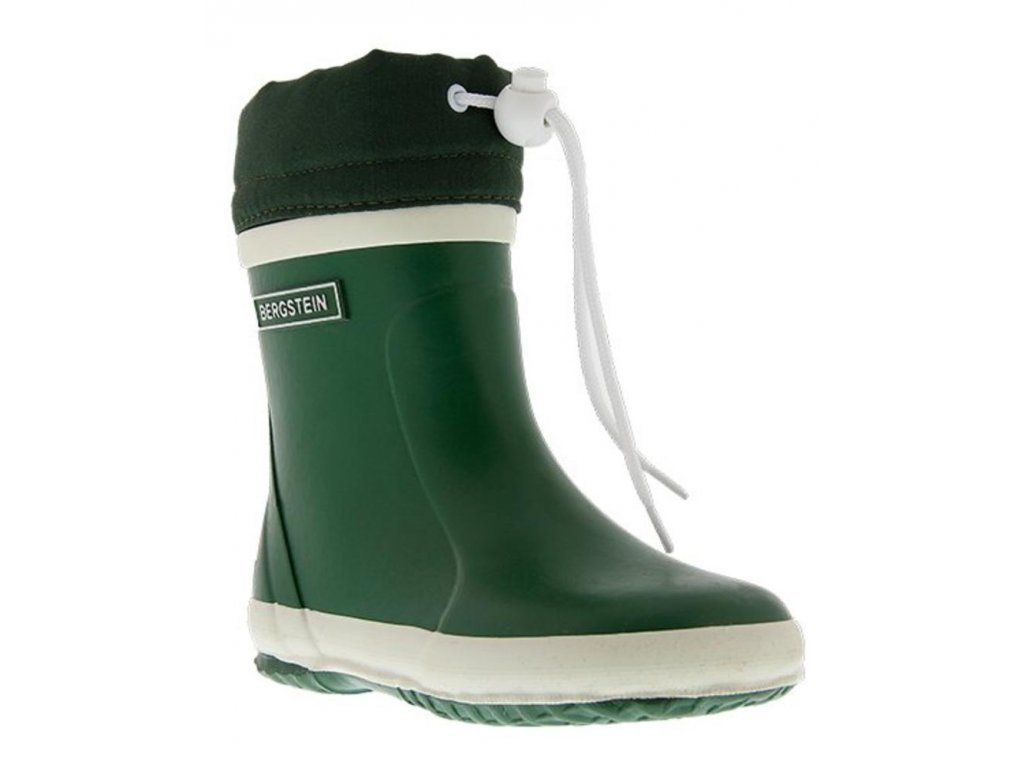 bergstein rainboots winter forest