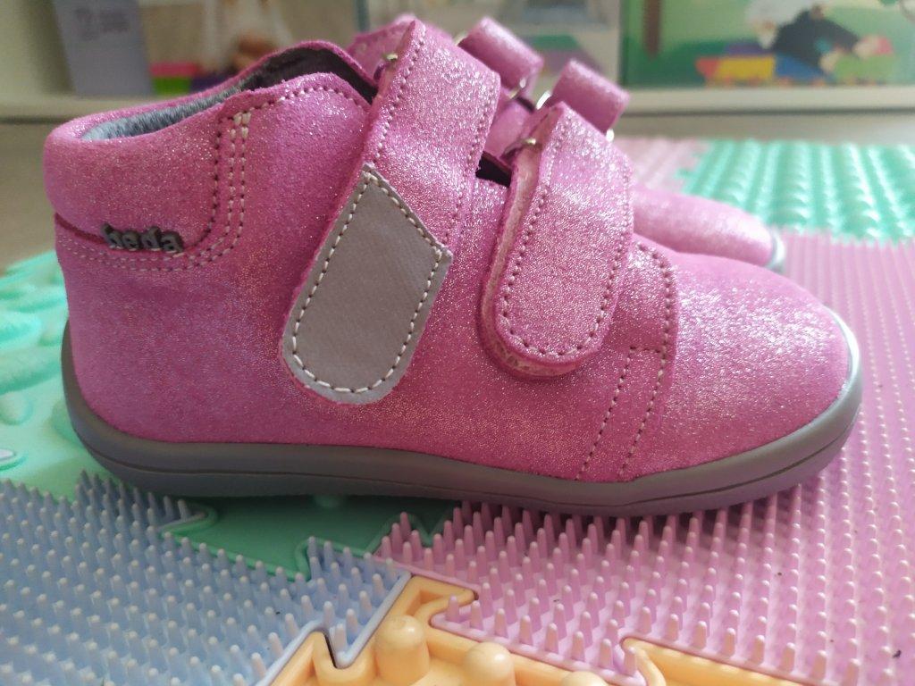 Beda Janette celoročné kožené topánky s membránou