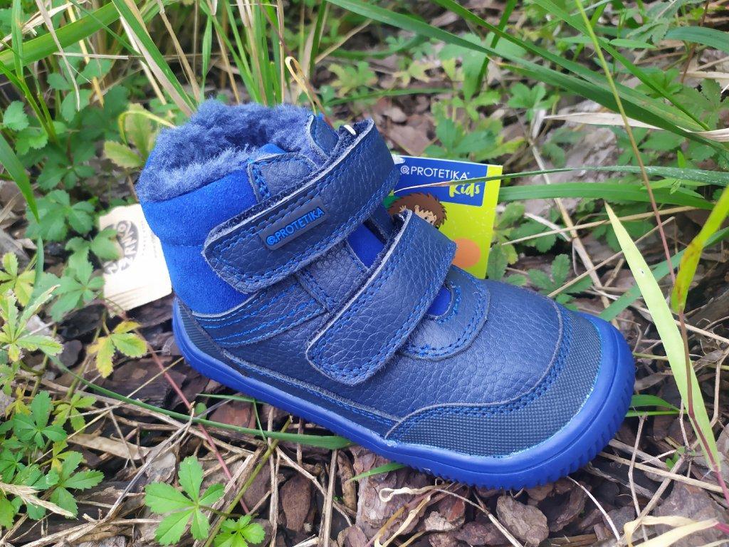 Protetika TYREL blue zimné topánky